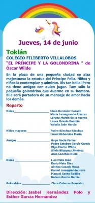 Muestra Teatro infantil: COLEGIO FILIBERTO VILLALOBOS