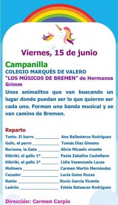 Muestra Teatro infantil: COLEGIO MARQUES DE VALERO