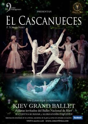 KYIV CLASSIC BALLET - EL CASCANUCES De P.I. Tchaikovski