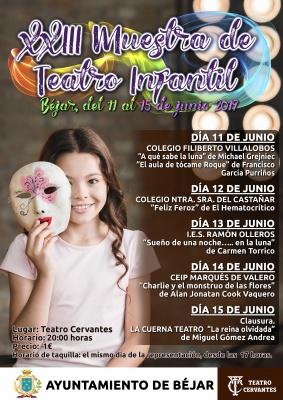 XXIII MUESTRA DE TEATRO INFANTIL