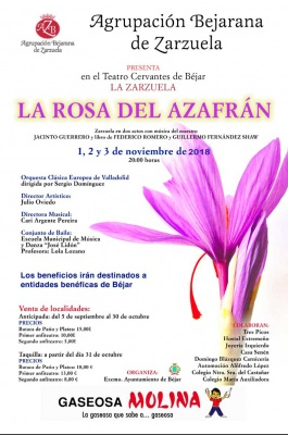 Zarzuela - La rosa del azafran