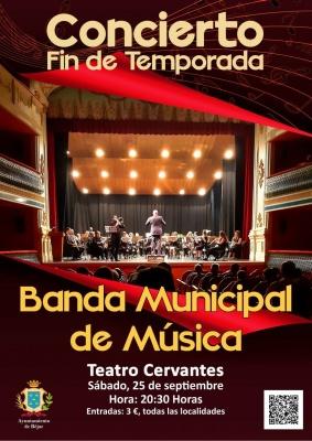 CONCIERTO FIN DE TEMPORADA BANDA MUNICIPAL DE MUSICA