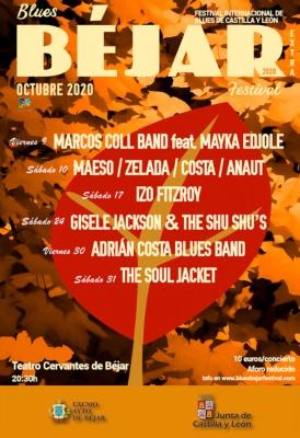 Marcos Coll Band feat. Mayka Edjole en el Blues Béjar Festival Extra