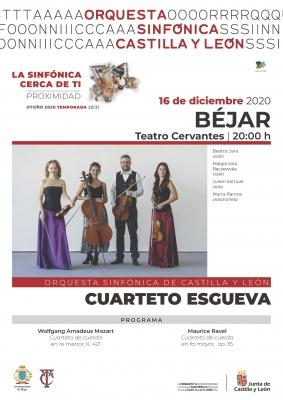 Cuarteto Esgueva - GIRA - LA SINFÓNICA CERCA DE TI