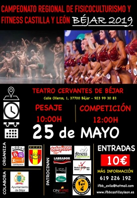 Campeonato regional de Fisicoculturismo y Fitness de Castilla y León