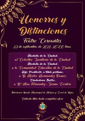 Honores y Distinciones