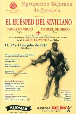"""Zarzuela """"El Huésped del Sevillano"""""""